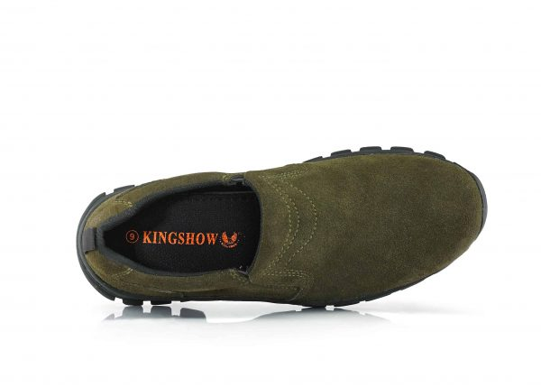 """Men's Kingshow 4"""" Twin Slip-on Boots-5071"""