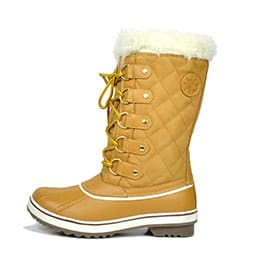 Women's Globalwin Beige Waterproof Winter Boots
